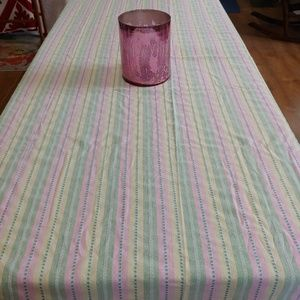 "Colordrift Tablecloth, 60"" x 84"", Rectangl…"
